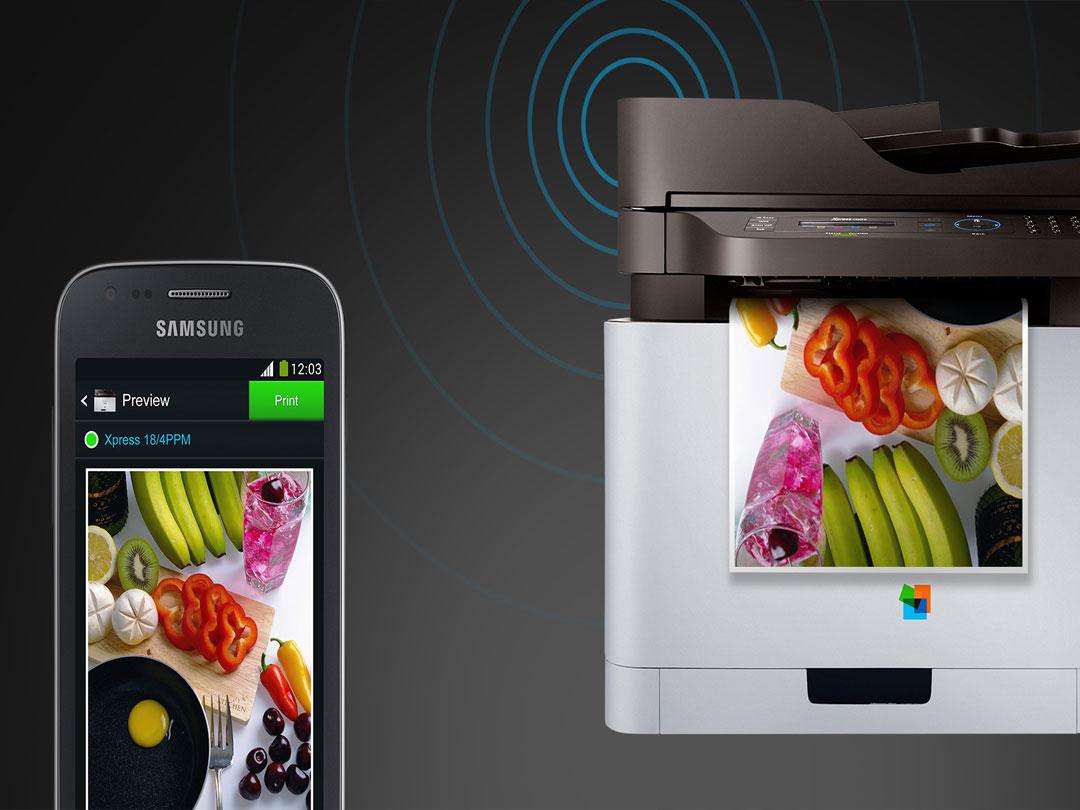 Easy Mobile Printing Tap & Print