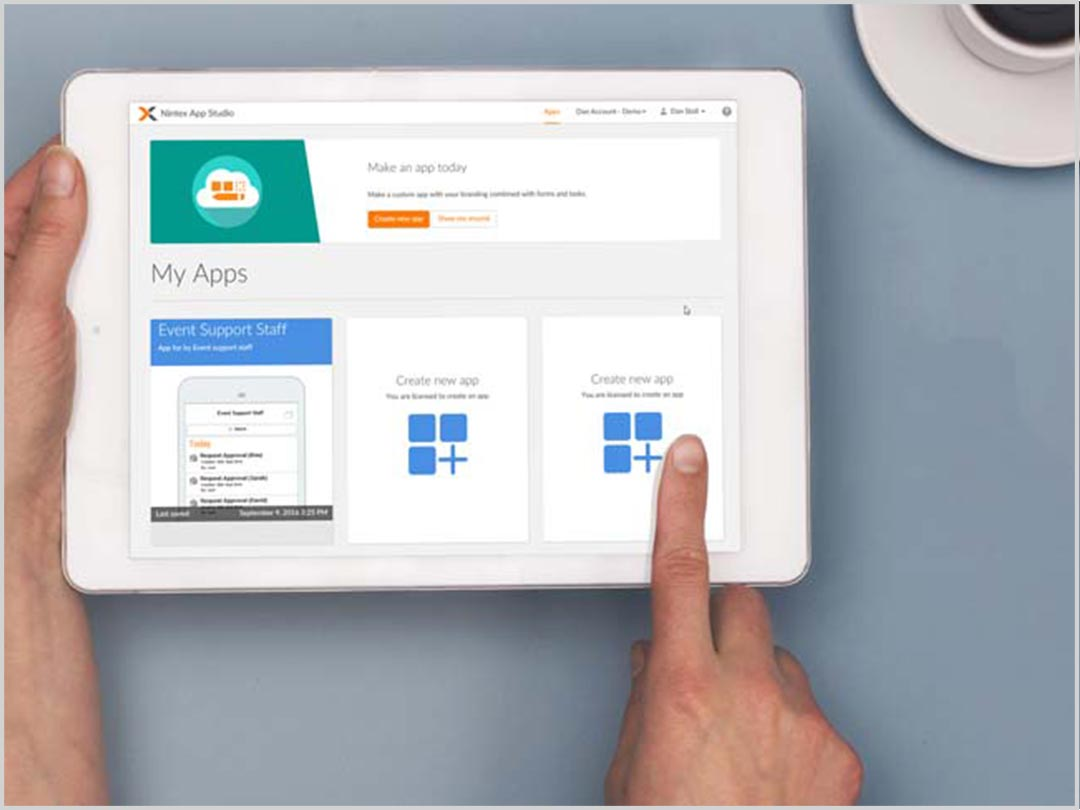 Design your own mobile workflow apps